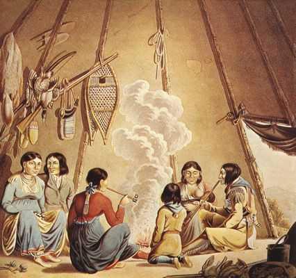 Rindisbacher-Indianer.