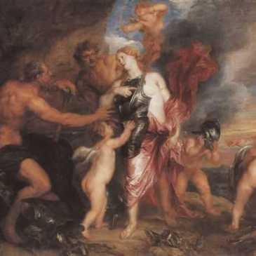 Venus bei Vulkan.