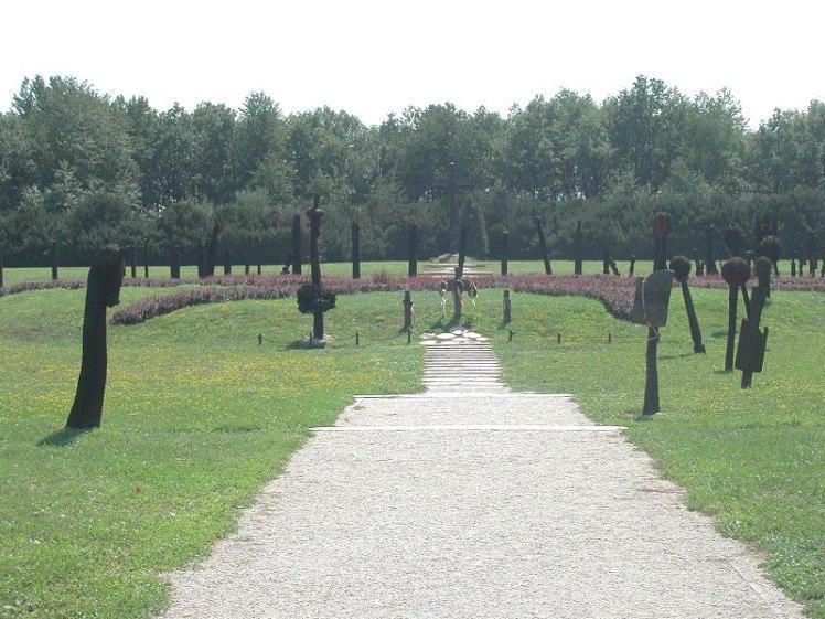 Denkmal an die Schlacht von Mohacs.