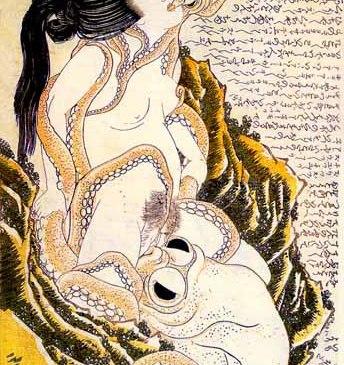 Hokusai-Fischersfrau