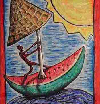 """""""Surfer""""; Thomas Schmid (Moi 2010)."""