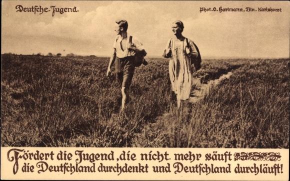 Guttempler-Postkarte