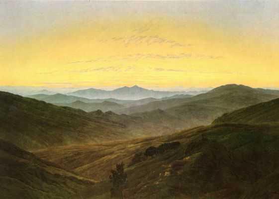 Friedrich, C.D. _Landschaft a la Böhmen