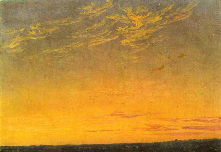 Abend(wolken)_Caspar-David-Friedrich
