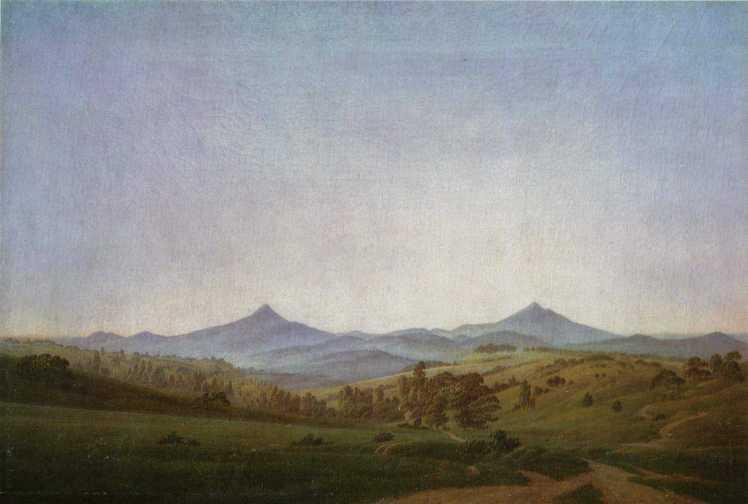 CDFriedrich-Böhmische_Landschaft