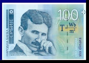 TESLA-Geldschein