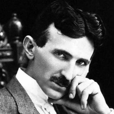 Tesla-Porträt